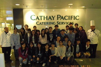 Visit to Cathay Pacific Catering Services in Tung Chung