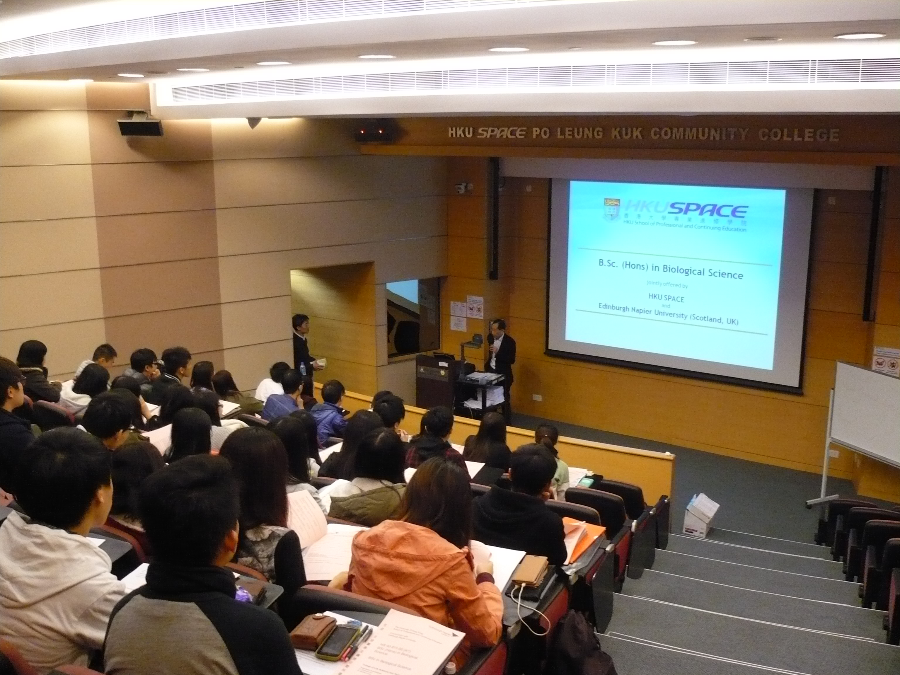Programme Seminar:  BSc Biological Science, Edinburgh Napier University in collaboration with HKU SPACE - Photo - 3