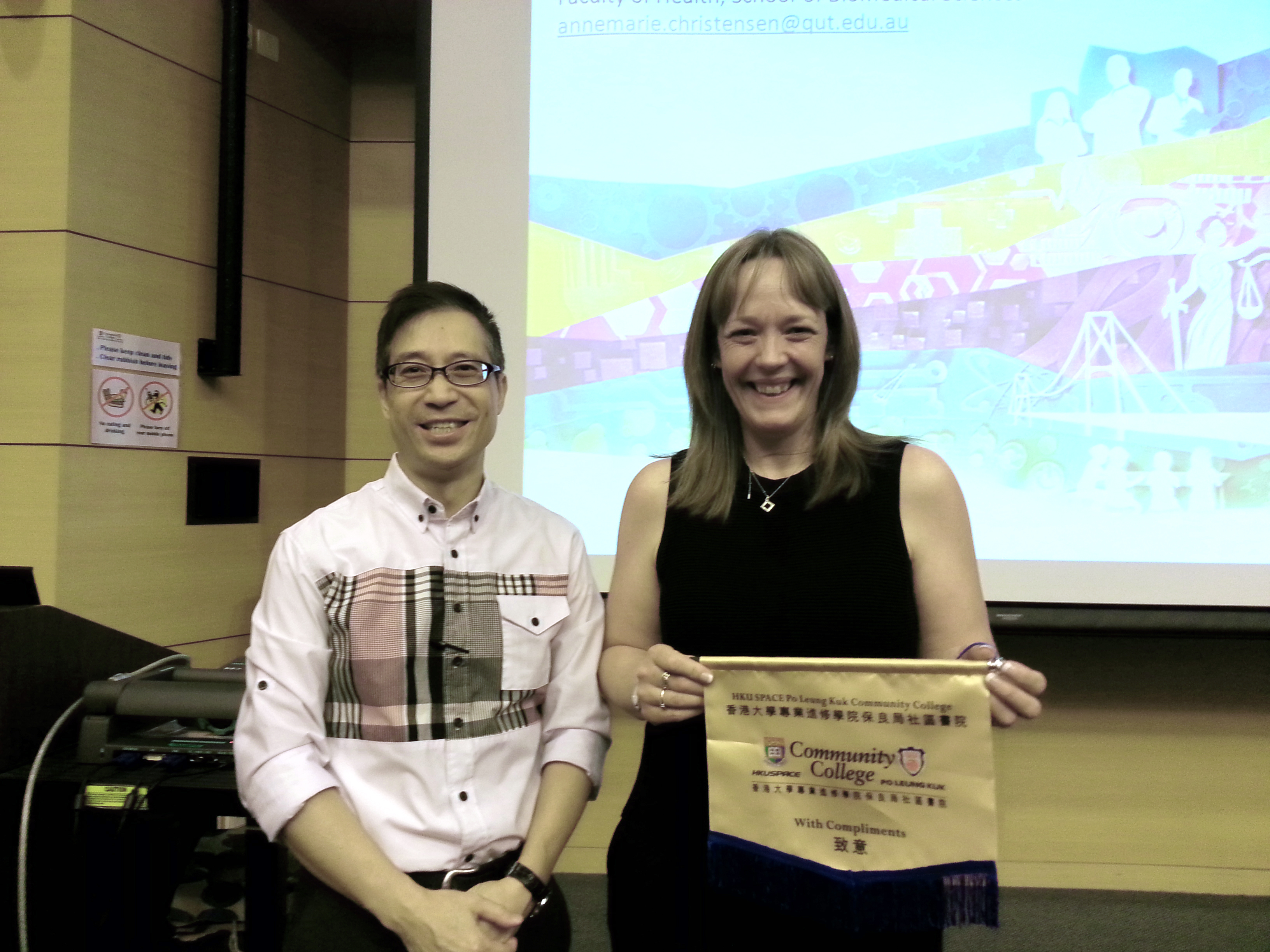 Queensland University of Technology (Australia) Articulation Talk - Photo - 1