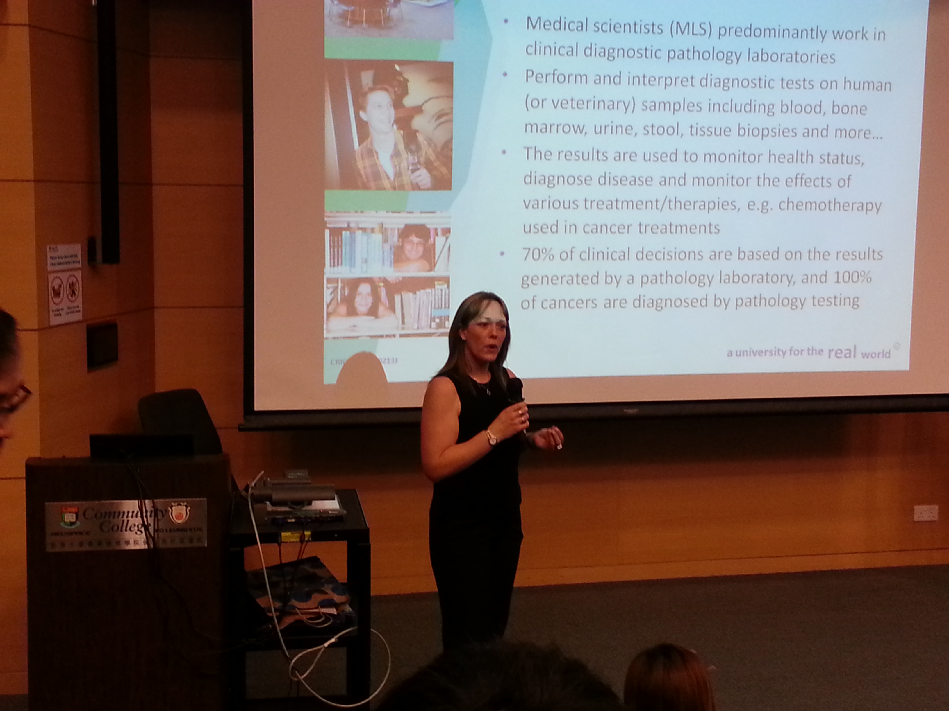 Queensland University of Technology (Australia) Articulation Talk - Photo - 5