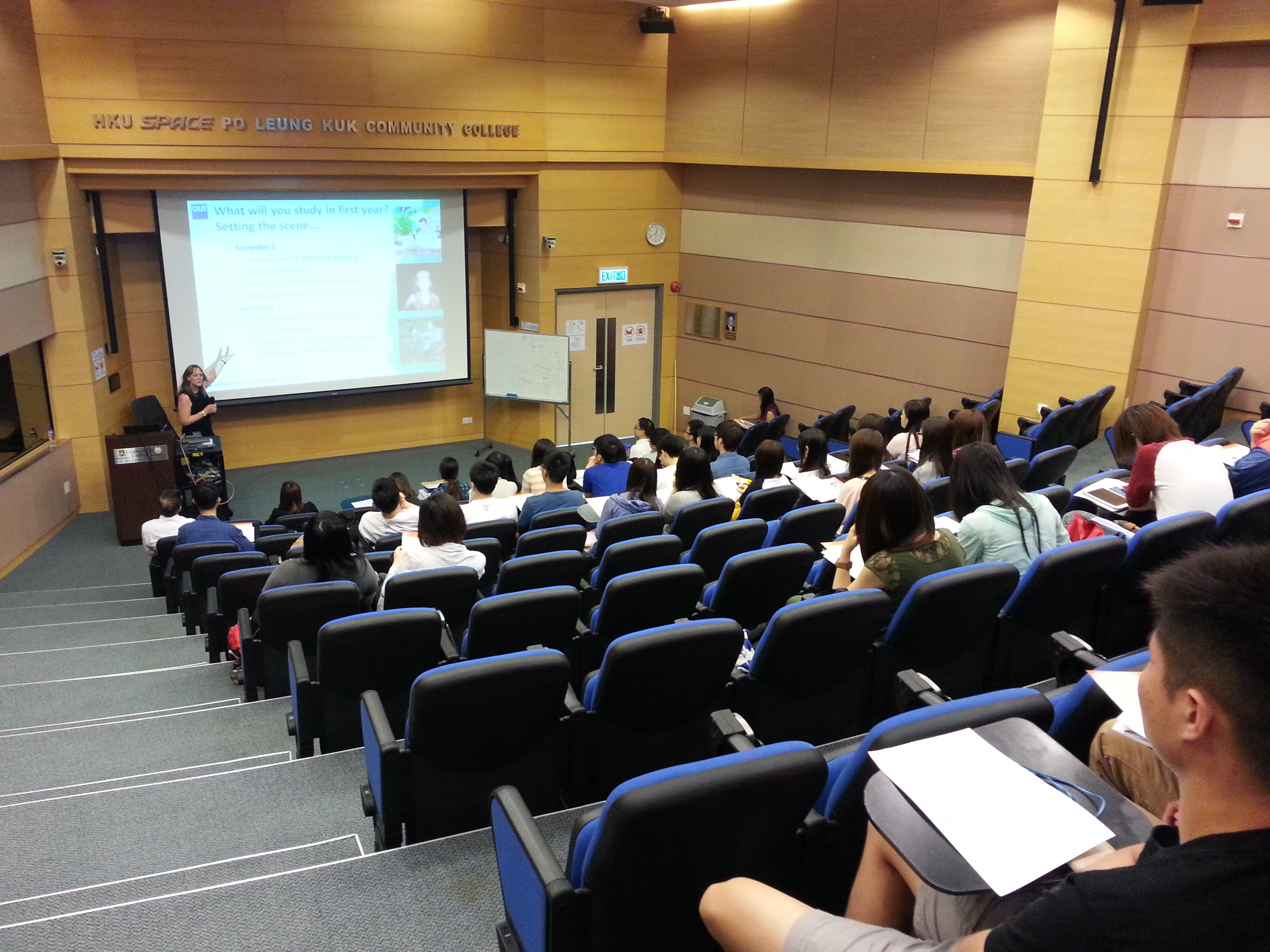 Queensland University of Technology (Australia) Articulation Talk - Photo - 7