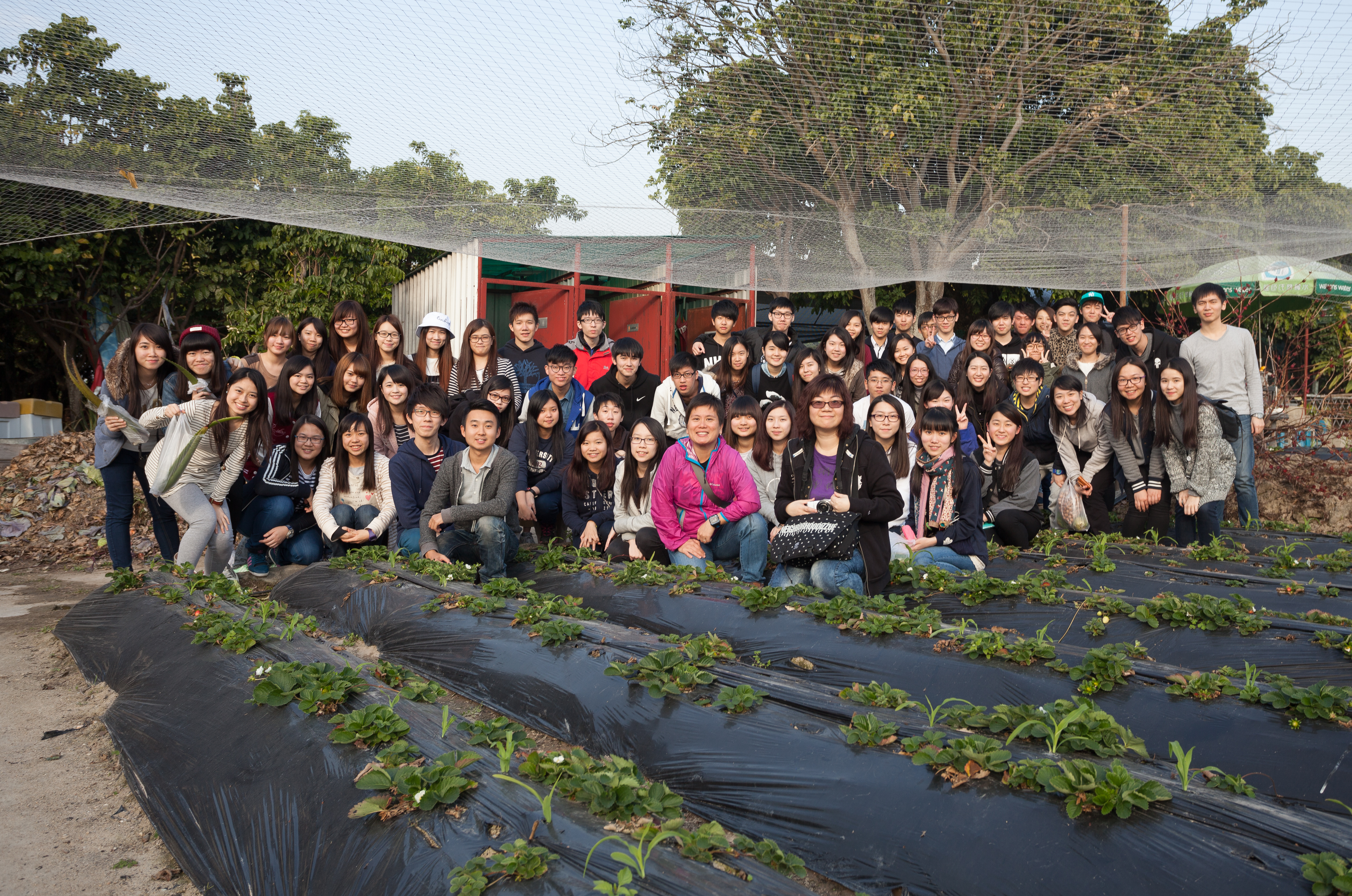 Visit to Organic Farm in Ha Pak Nai - Photo - 1
