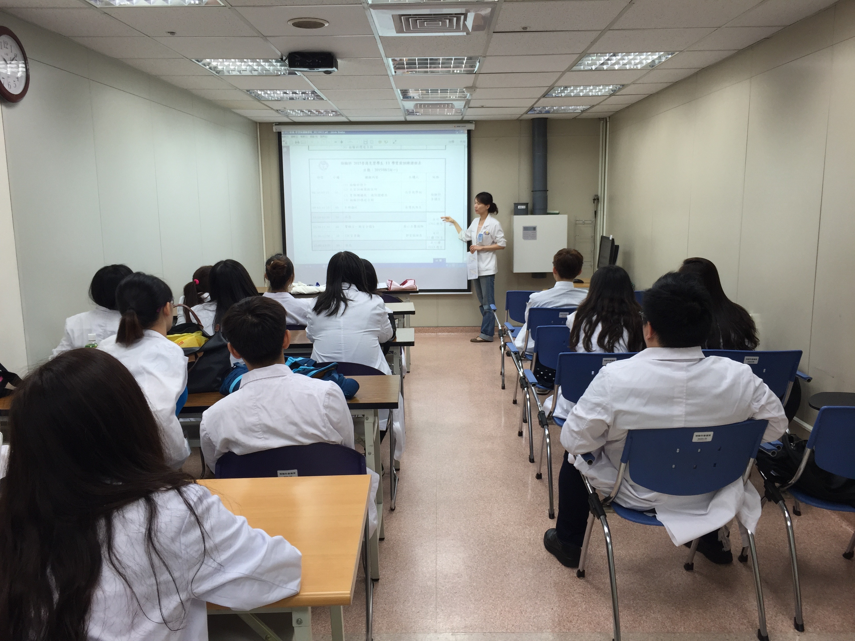 2015 Overseas Learning Experience in Chung Shan Medical University Hospital (Taiwan) for the Higher Diploma in Medical and Health Product Management Programme - Photo - 1