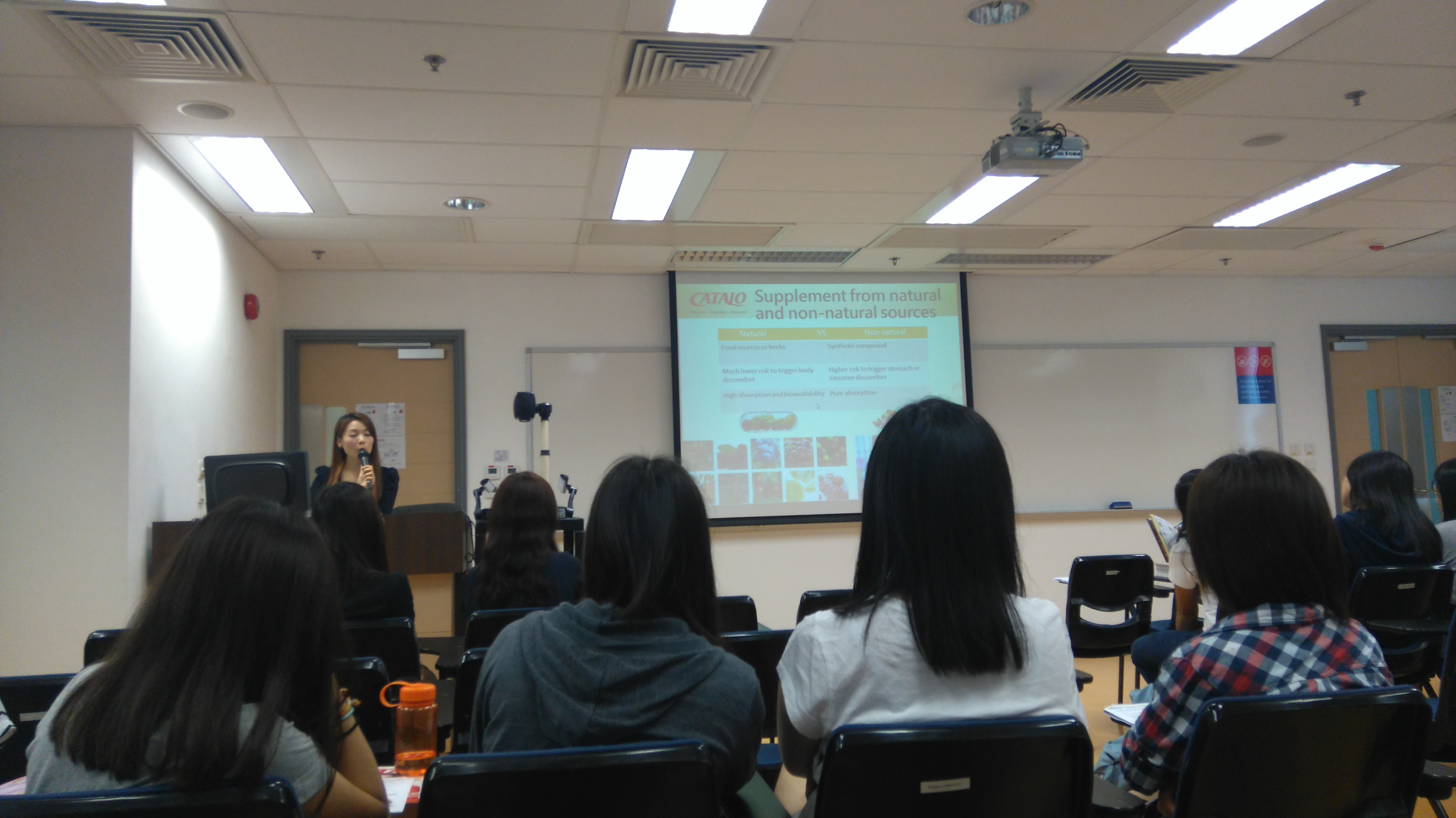 The nutrition supplements industry, a talk and site visit given by CATALO - Photo - 5