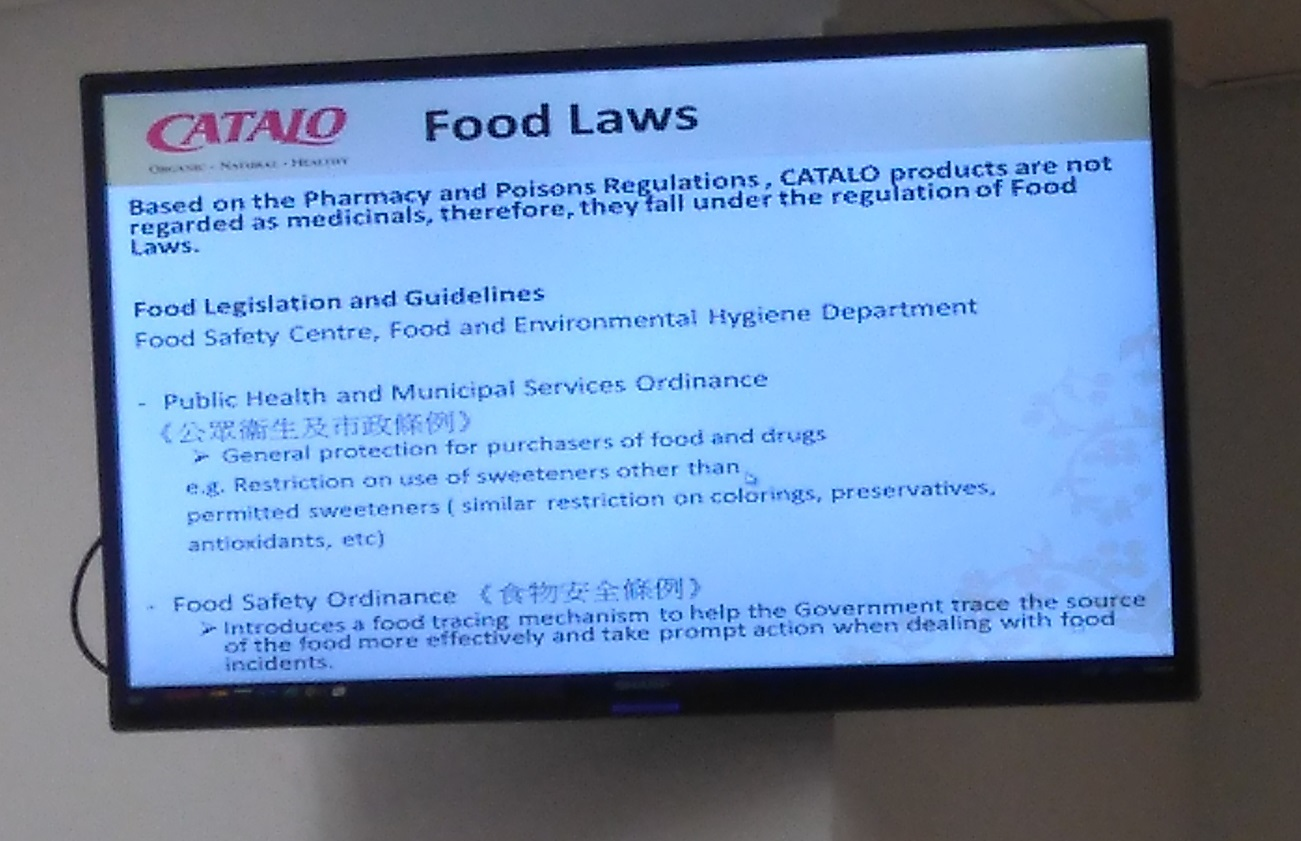 The nutrition supplements industry, a talk and site visit given by CATALO - Photo - 7