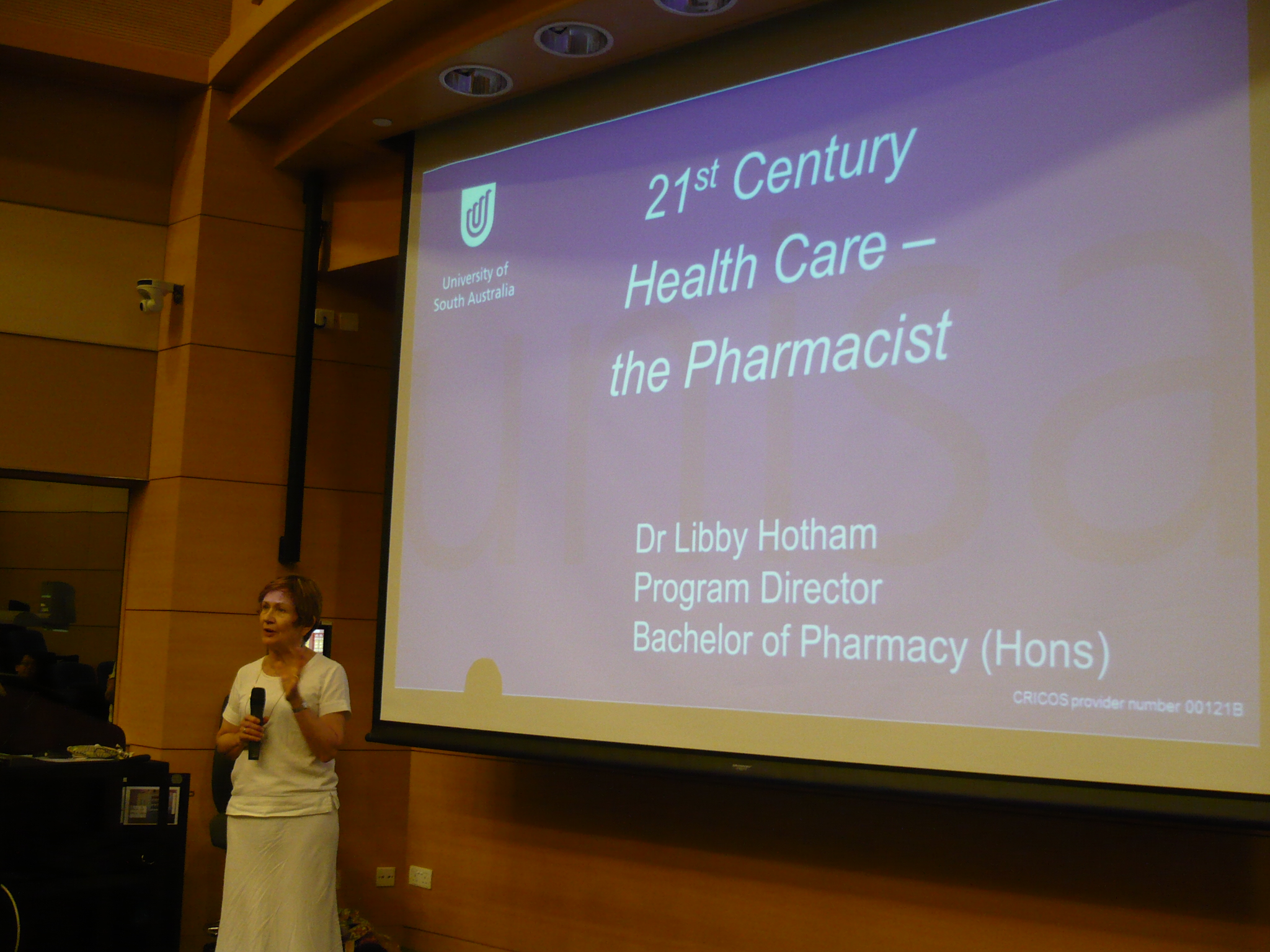 """21st Century Health Care – the Pharmacist""講座 - Photo - 3"
