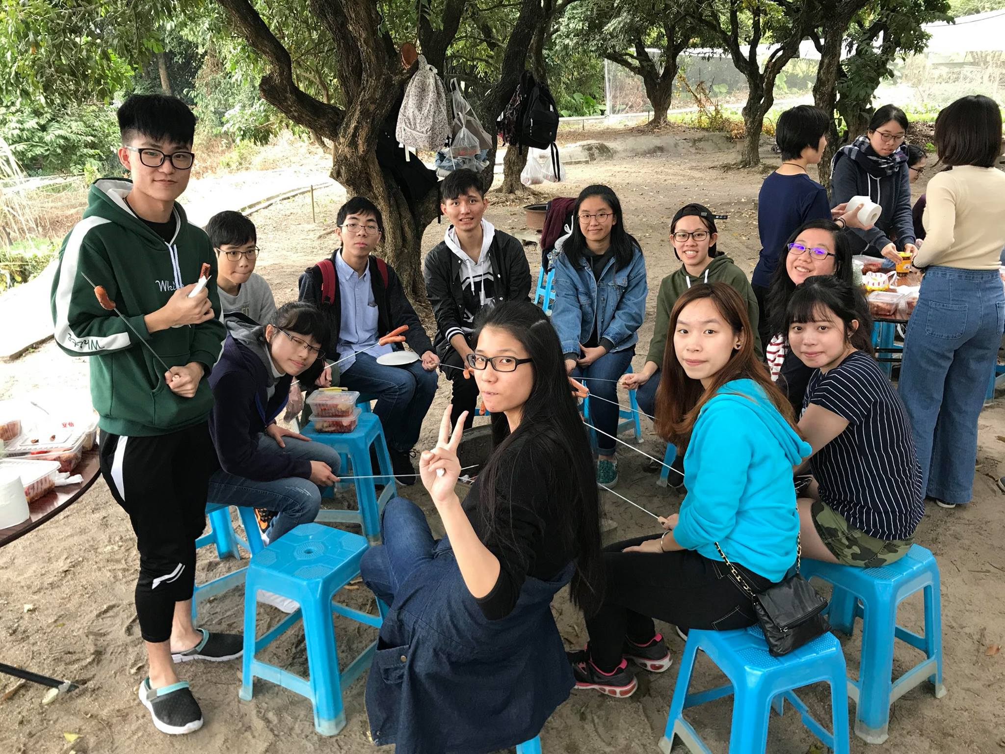 Visit to Luk Yau Yau Organic Farming  - Photo - 17