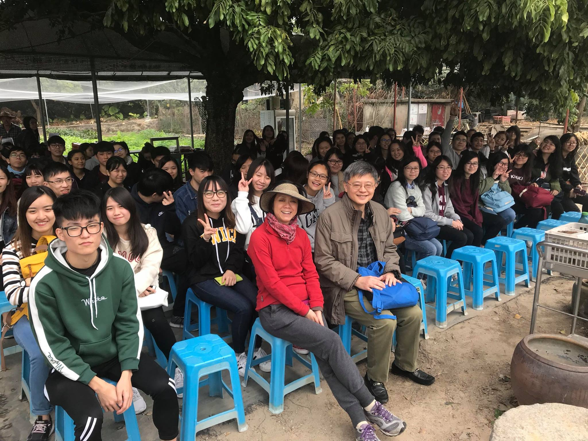 Visit to Luk Yau Yau Organic Farming  - Photo - 23