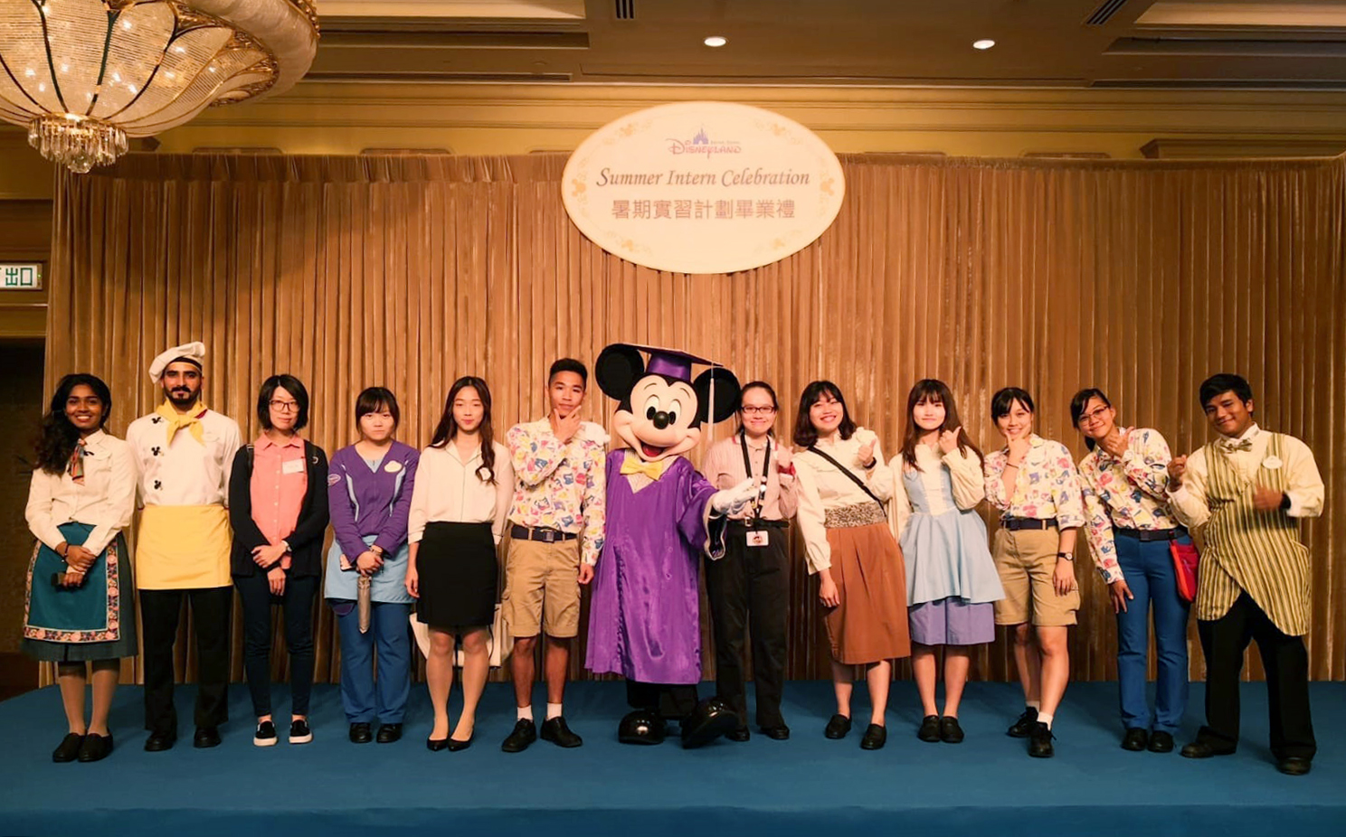 """Summer Intern Celebration"" at Hong Kong Disneyland - Photo - 5"