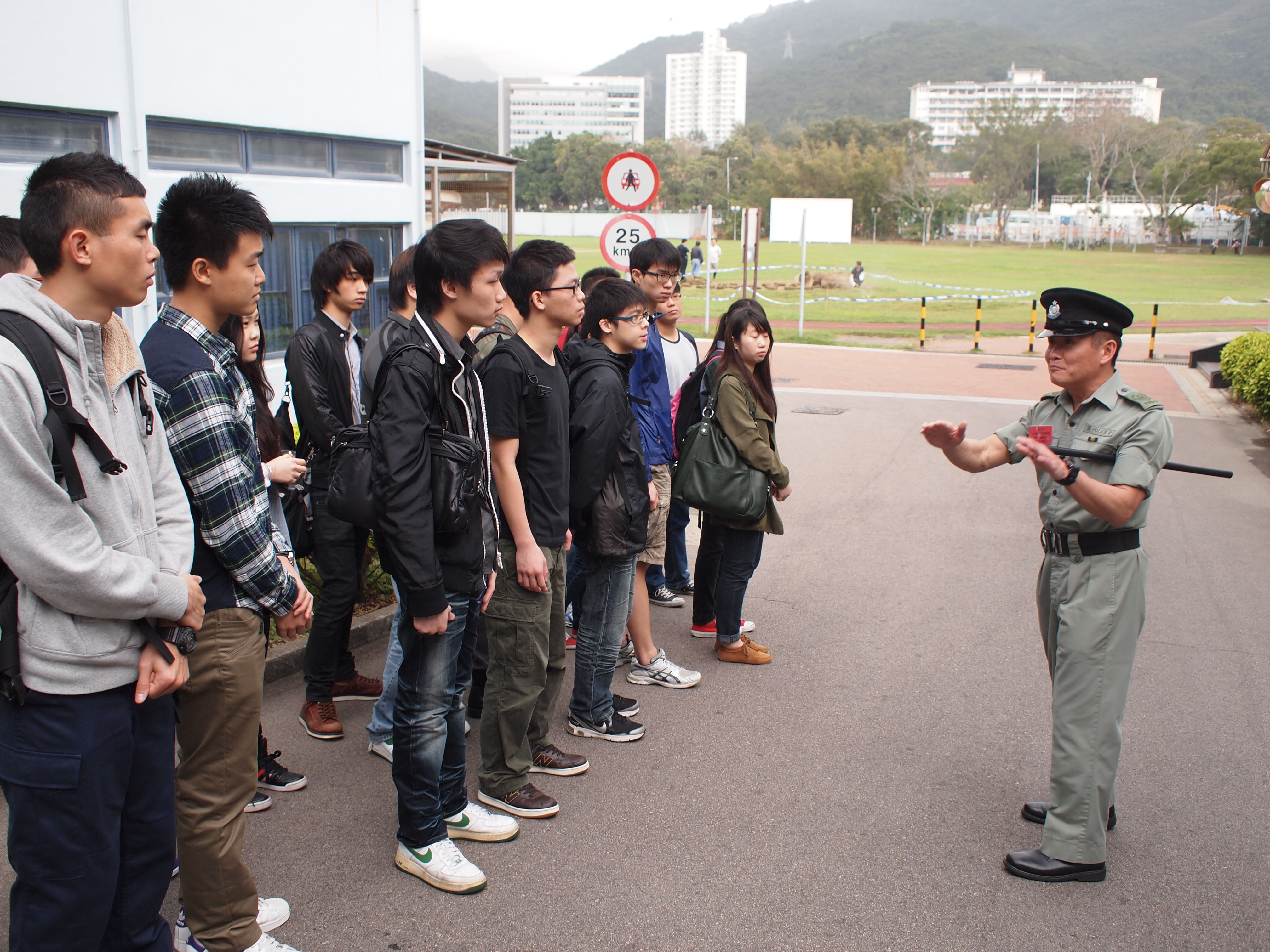 Organization Visit - Hong Kong Police College - Photo - 7