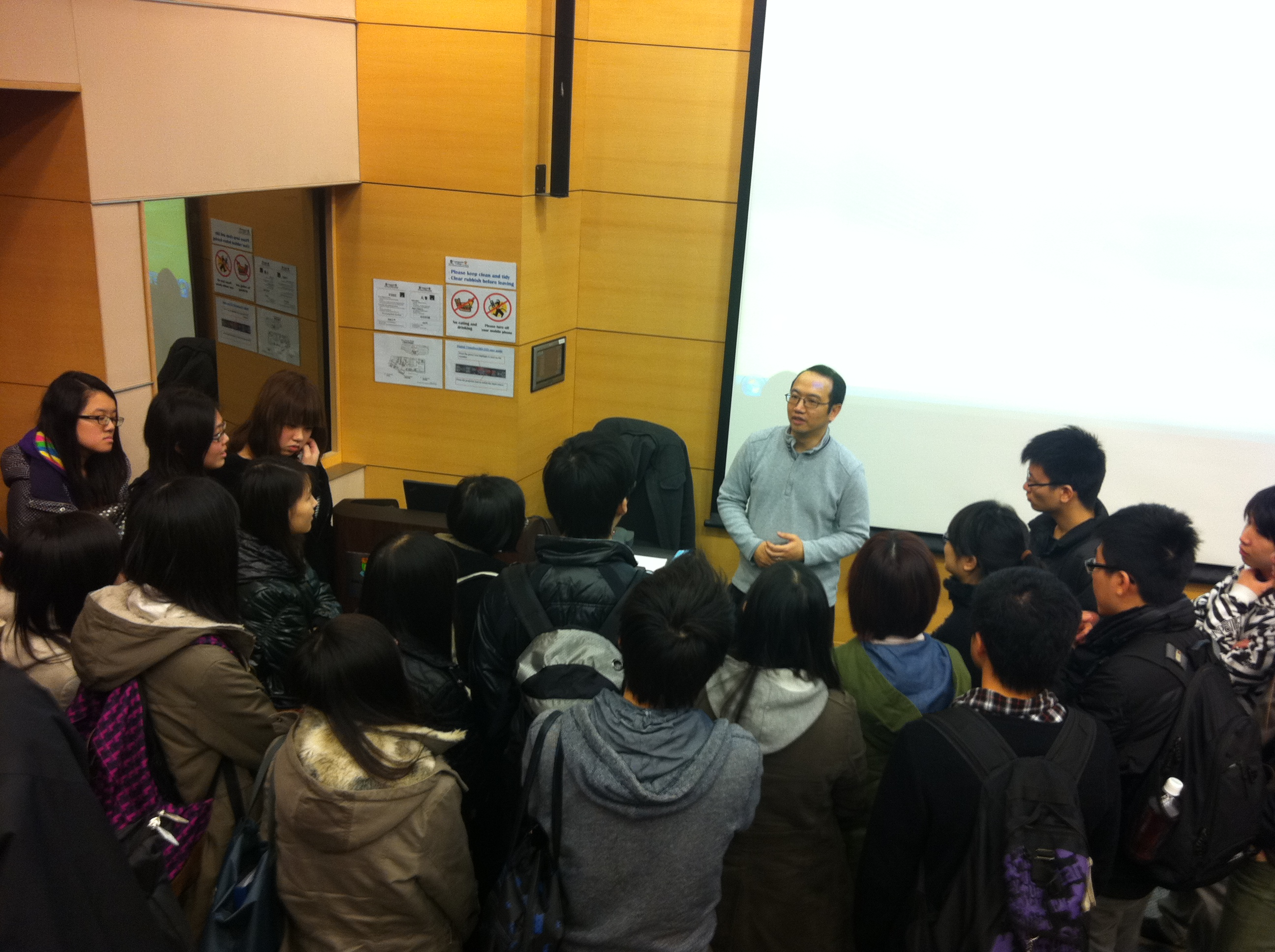 Guest Seminar on Food Testing Industry in Hong Kong - Photo - 9