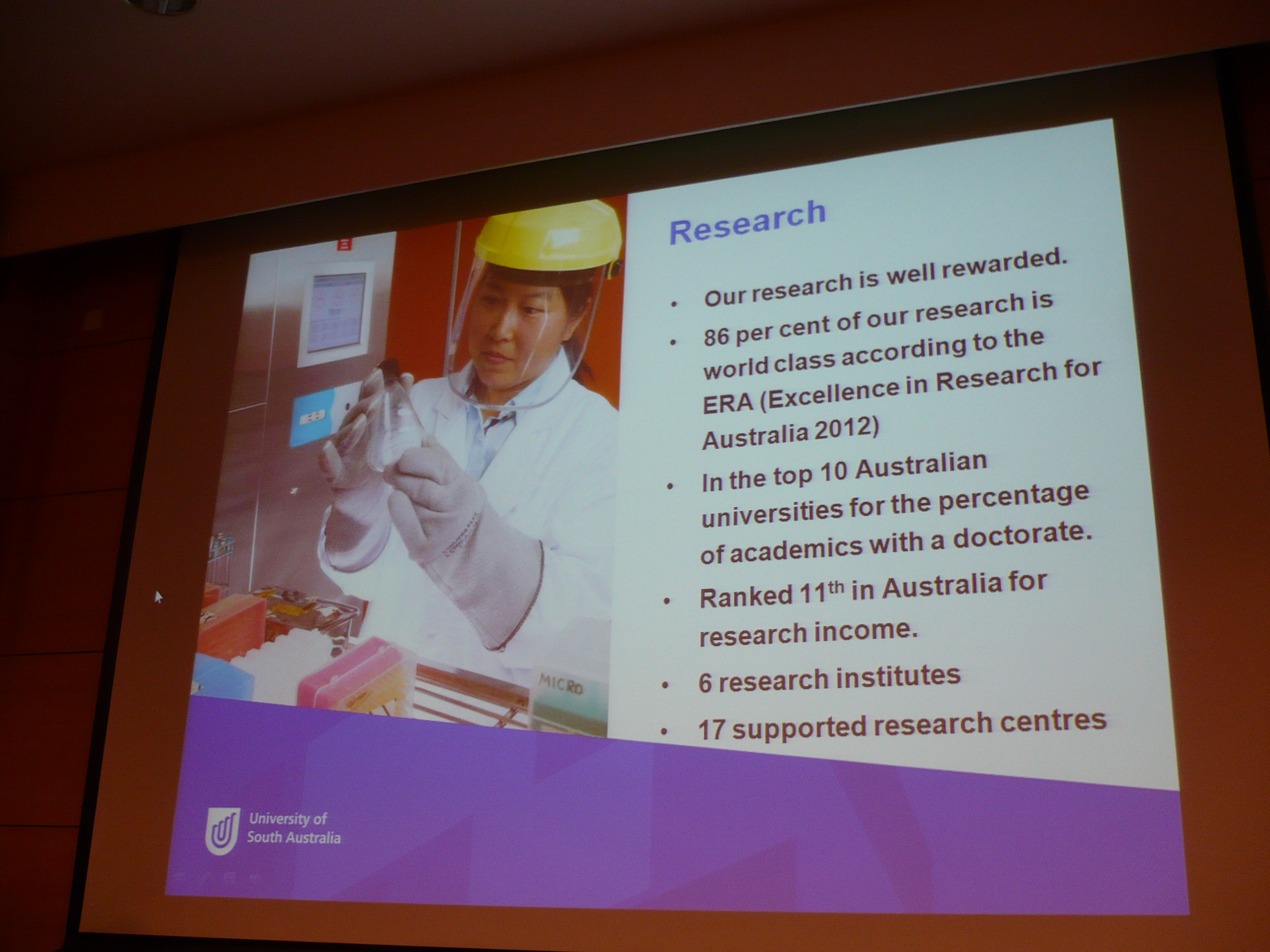 Programme Talk from University of South Australia - Photo - 5