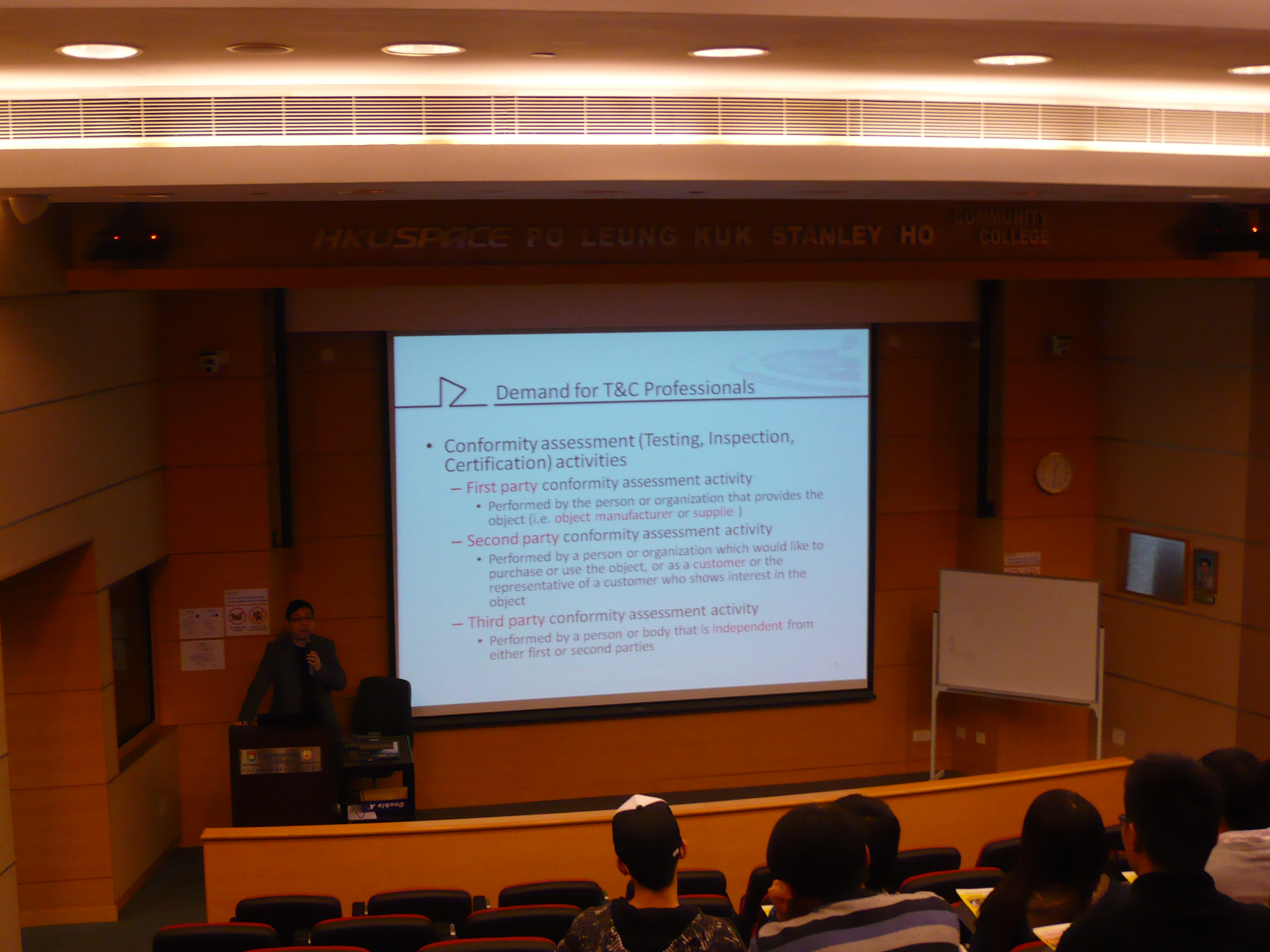 Admission Talk on Testing Science Programmes Offered by the OUHK - Photo - 3