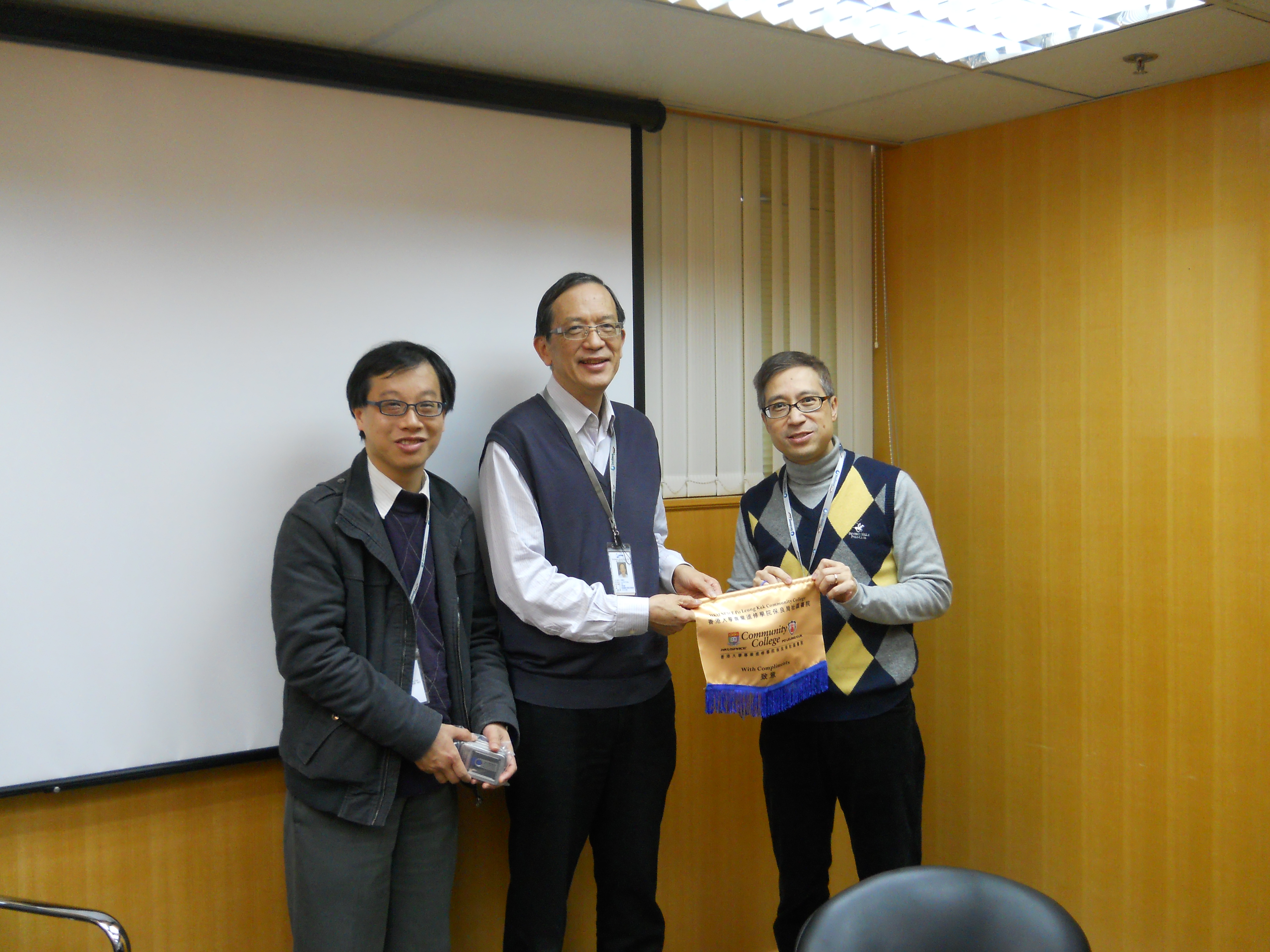 Visits to Europharm and Yakult - Photo - 3