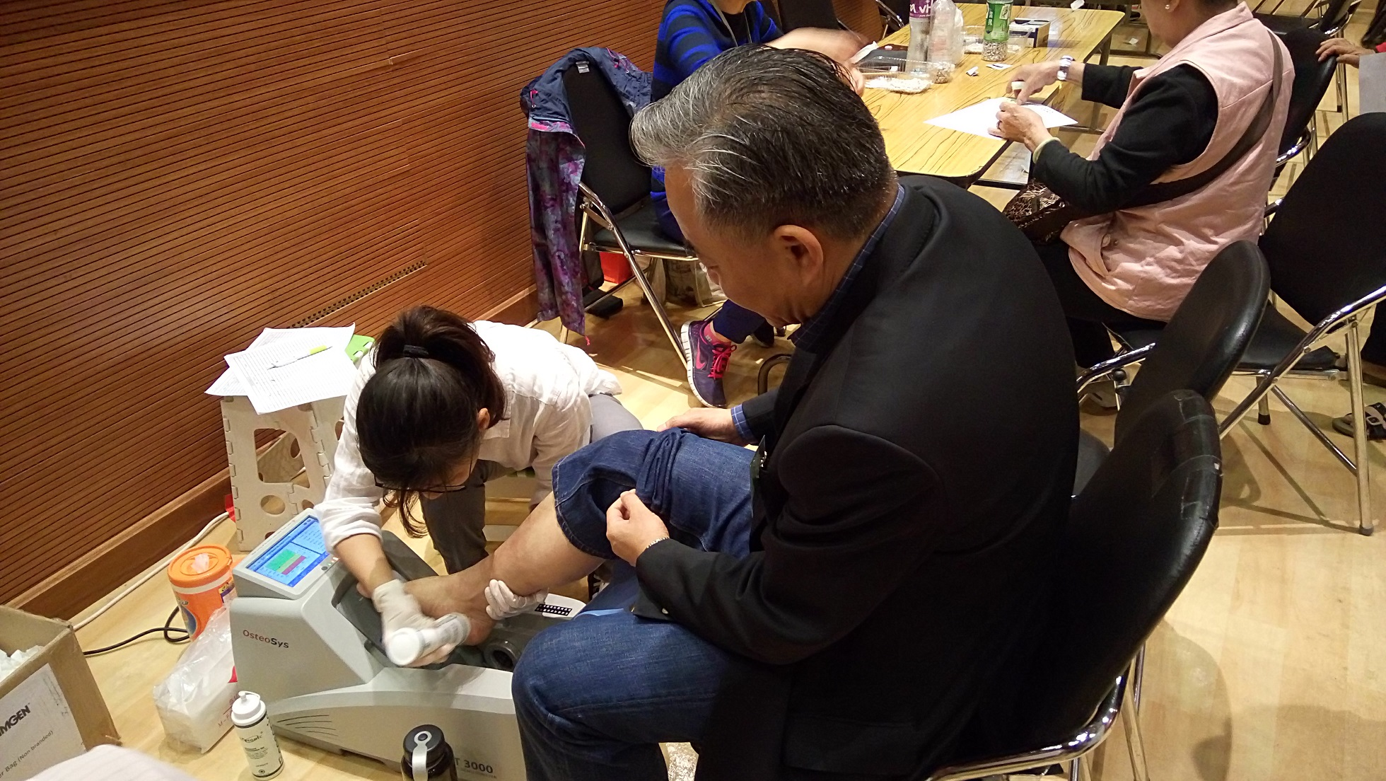 Experiential Learning (Bone Density Screening Programme by The HK Academy of Pharmacy) - Photo - 5