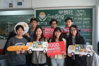 Food Drive and Visit to Feeding HK 2017
