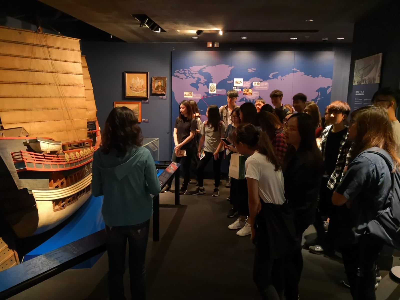 Visit to Hong Kong Maritime Museum - Photo - 1