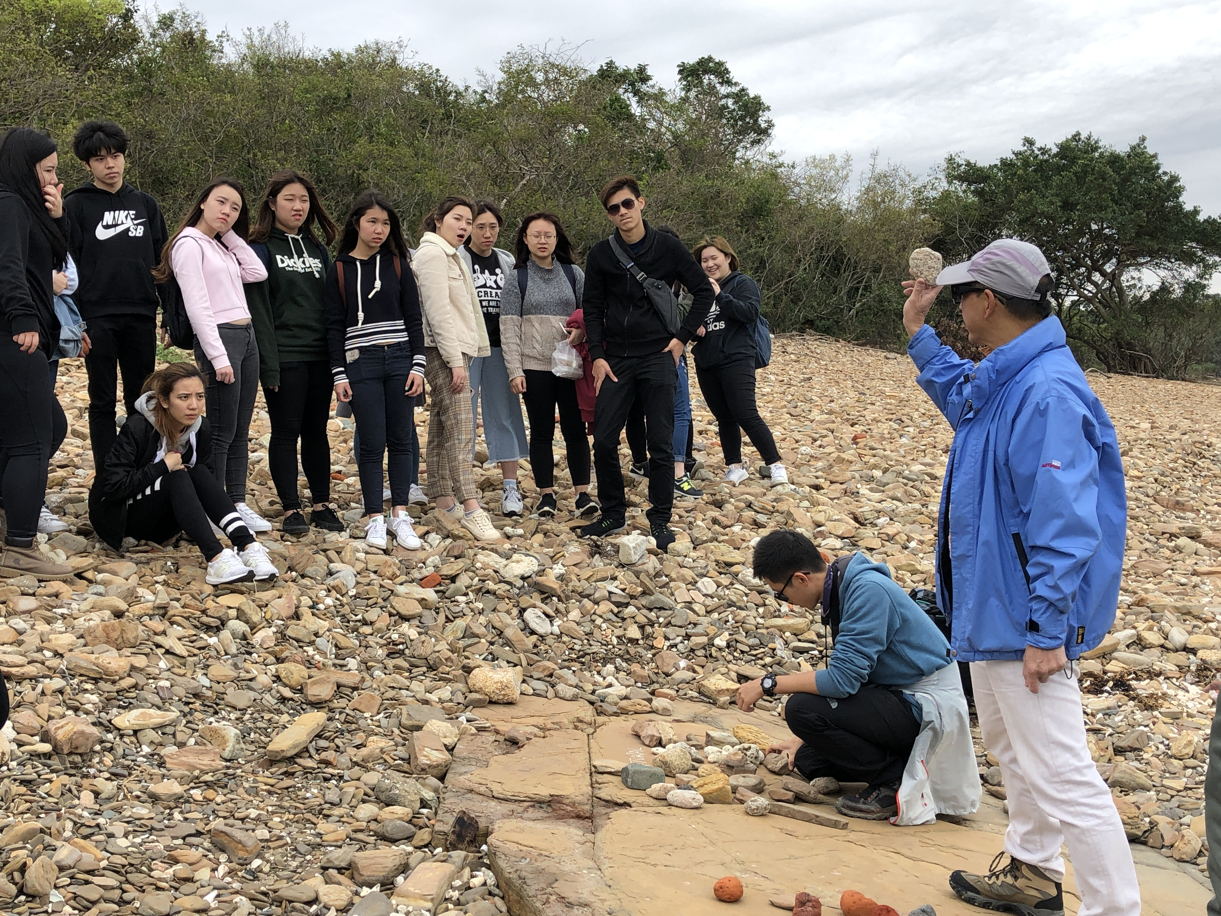 Field Study: Hong Kong UNESCO Global Geopark - Tung Ping Chau - Photo - 5