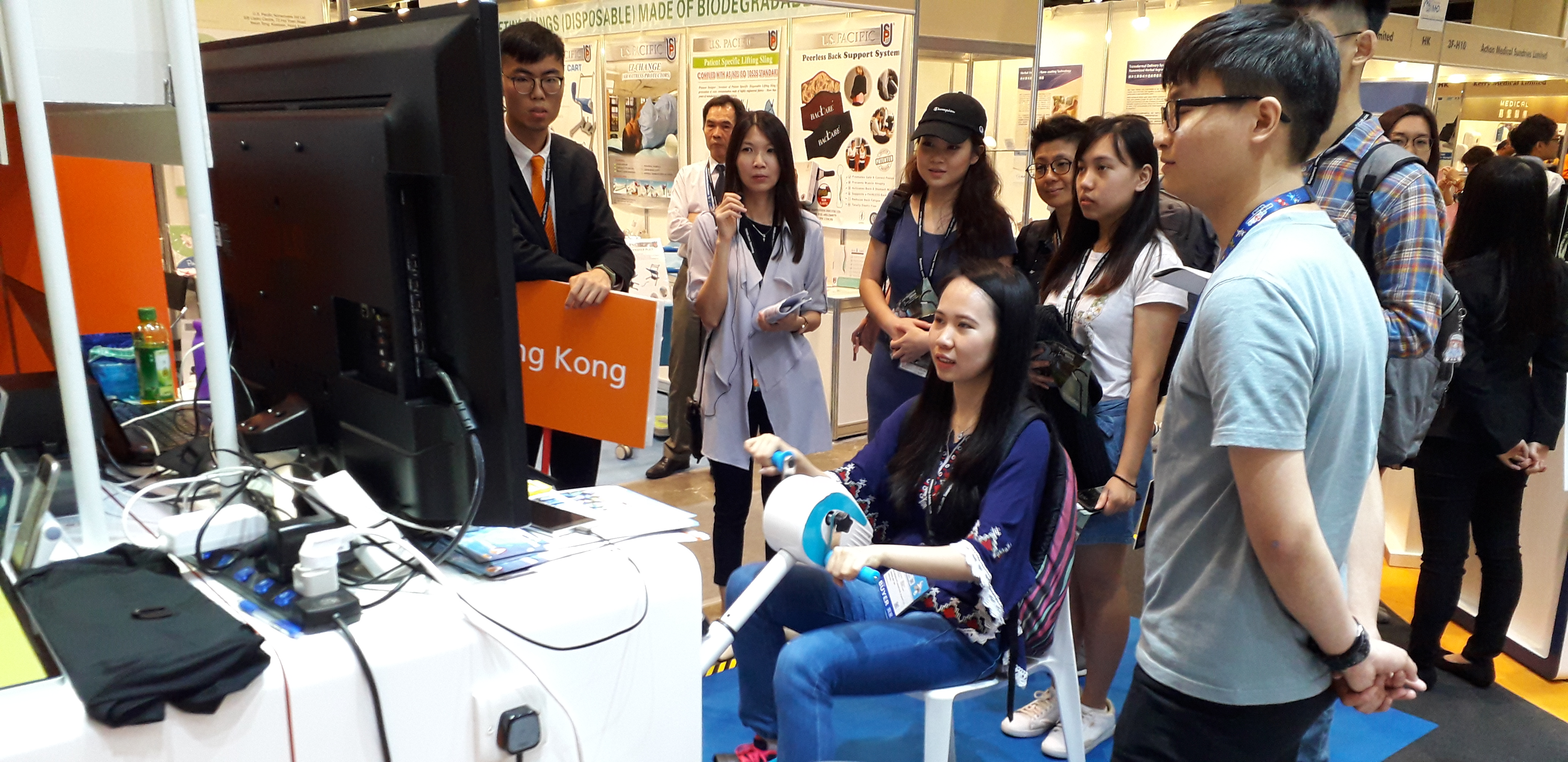Visiting Medical & Health Exhibition - Photo - 1