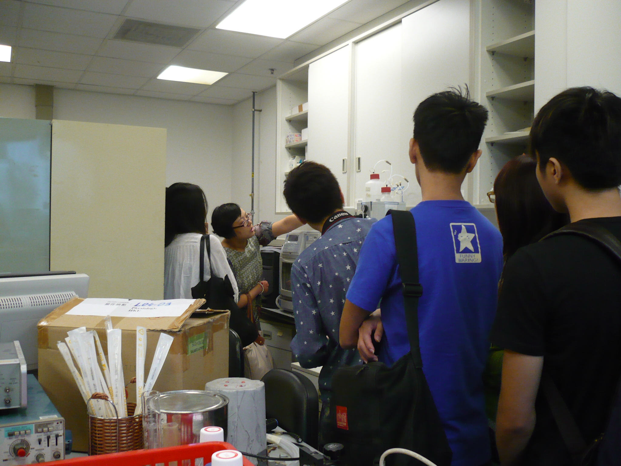 Visit to Laboratories of HKU  (for Year 1 Students of the Higher Diploma in Medical and Health Products Management Programme) - Photo - 19