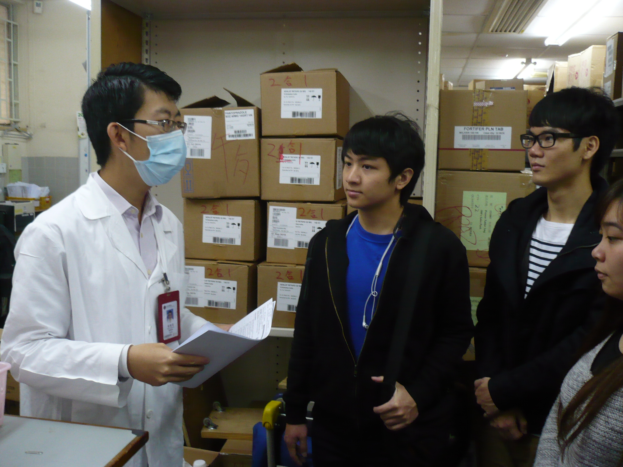 Visit to the Pharmacy Department of Caritas Medical Centre - Photo - 15