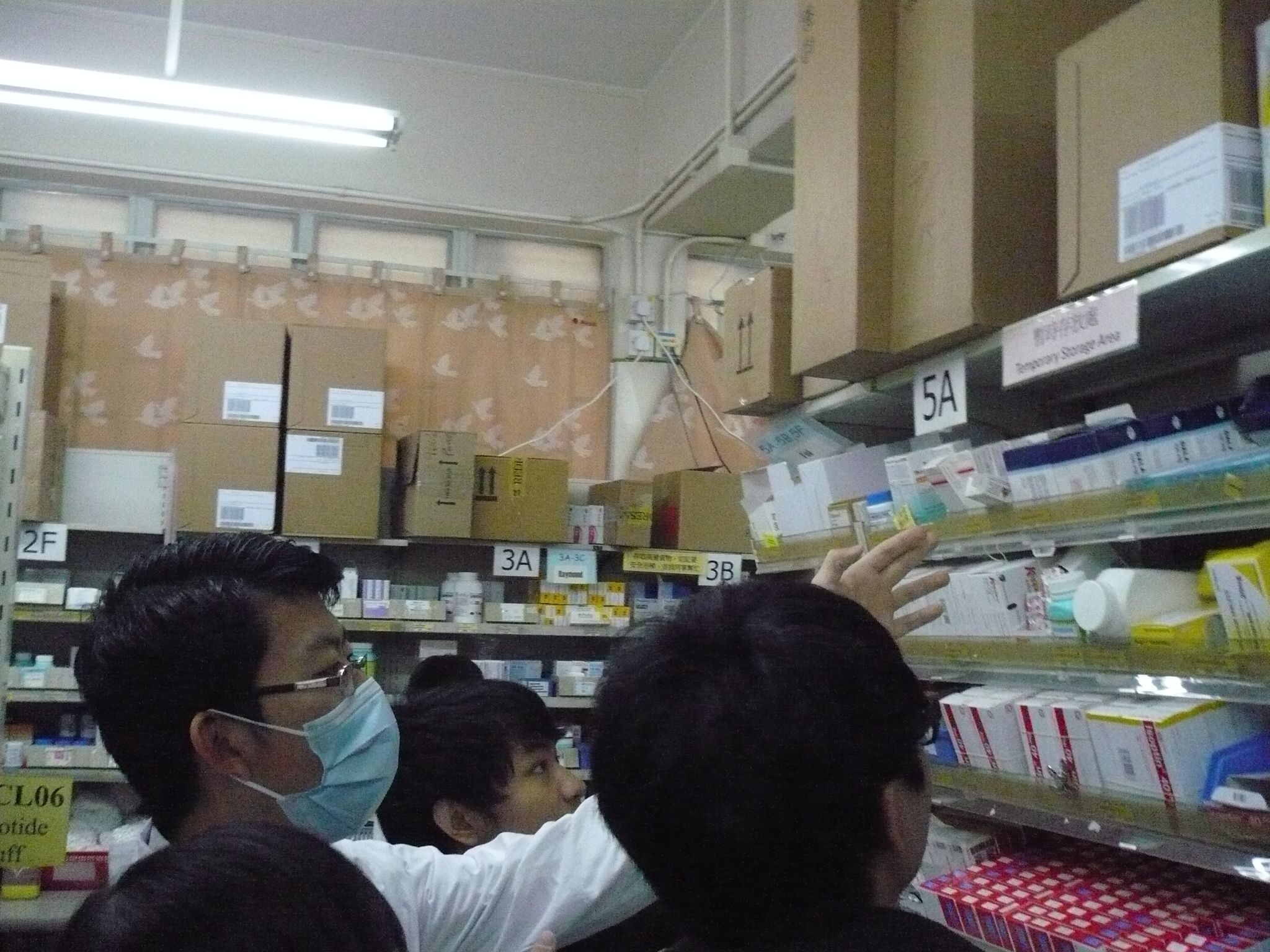 Visit to the Pharmacy Department of Caritas Medical Centre - Photo - 17